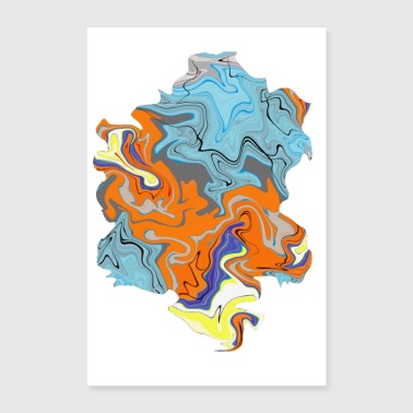 Swag Floating 3 - Poster 40x60 cm