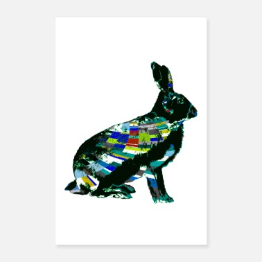 Hase hase - Poster 40x60 cm