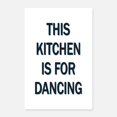 Dance Typography poster - Poster