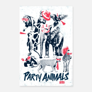 Collections Animal Planet Party Animals - Poster