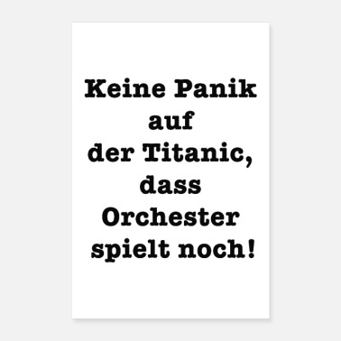 Orchester Titanic - Poster
