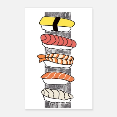 Selection Sushi - Poster