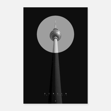 Television Berlin - TV Tower - Poster