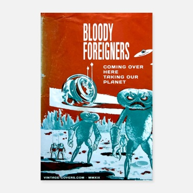 Ufo Bloody Foreigners - Poster