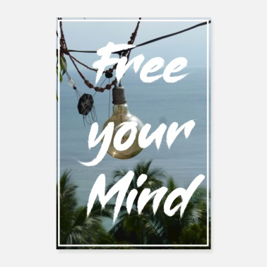 Mindfulness Free your mind - Poster