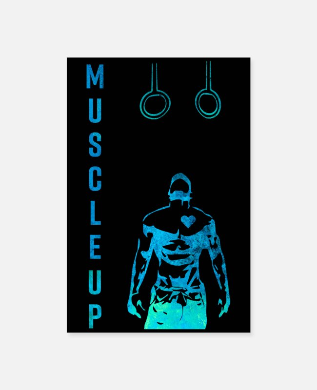 Training Posters - Muscle Up Fitness Training Gym Studio - Posters wit