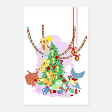 Dressing the Yule Tree - tegneseriedyr - Poster