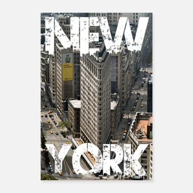 New England New York love NYC - Poster