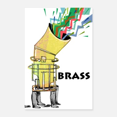 Band Brass Band - Poster