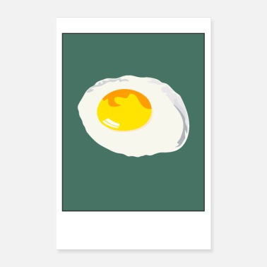 Fried Egg Breakfast fried egg - Poster