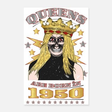 1950 Queens are Born in 1950 - Poster