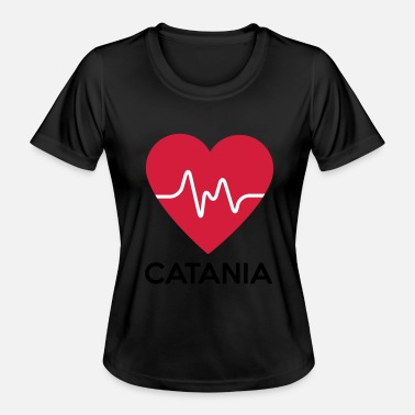 Catania heart Catania - Women's Functional T-Shirt