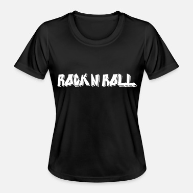 Rock and roll - Camiseta funcional para mujeres