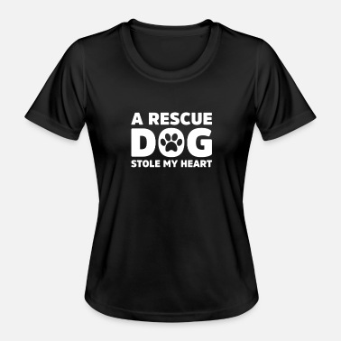 Rescue Dog Rescue Dog - Women's Functional T-Shirt