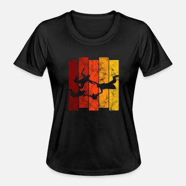 Extreme Skydiving Parachute - Women's Functional T-Shirt