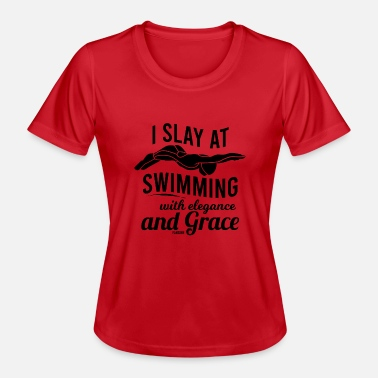 Outdoor Swimming Pool Indoor swimming pool outdoor swimming lake swimming - Women's Functional T-Shirt
