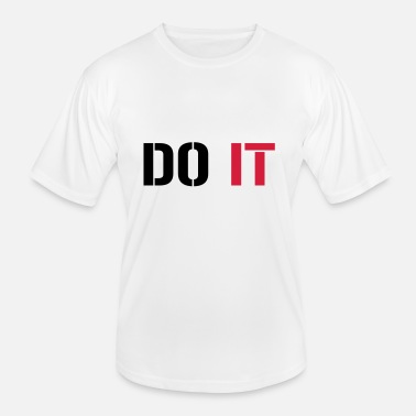 Do It Do it - Funksjons-T-skjorte for menn