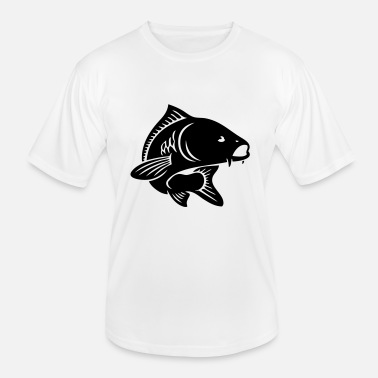 Fishing fisherman fish carp - Men's Functional T-Shirt