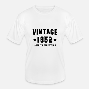 VINTAGE 1952 - Birthday - Aged To Perfection - Männer Funktions-T-Shirt
