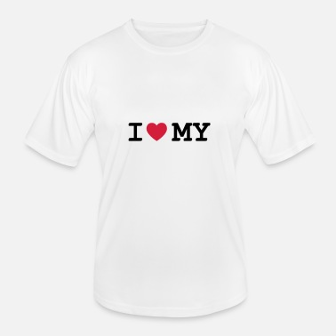 I Love My i love my - Men's Functional T-Shirt