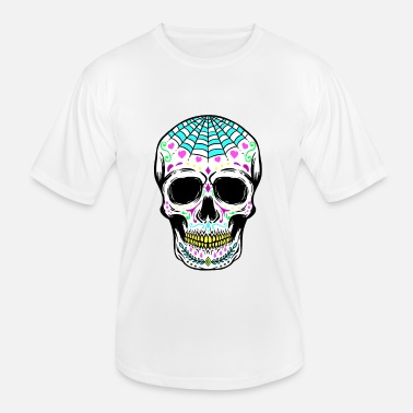 Mexico Sugar Skull Day of the Dead - Functioneel T-shirt voor mannen