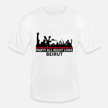 Beiroet Party All Night Long Beiroet - Functioneel T-shirt voor mannen