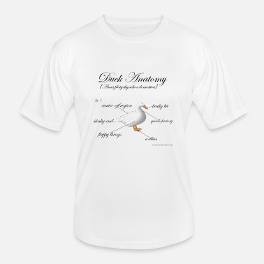 Anatomy Duck anatomy - Men's Functional T-Shirt