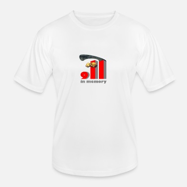 Twin Towers 911b - Männer Funktions-T-Shirt