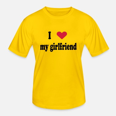I Heart girlfriend, I love, i heart - T-shirt sport Homme