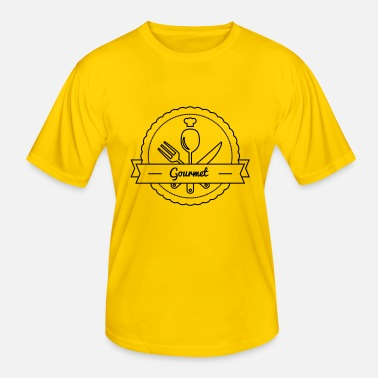Gourmet Gourmet - Men's Functional T-Shirt