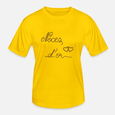 Noces D'or Noces or - T-shirt sport Homme
