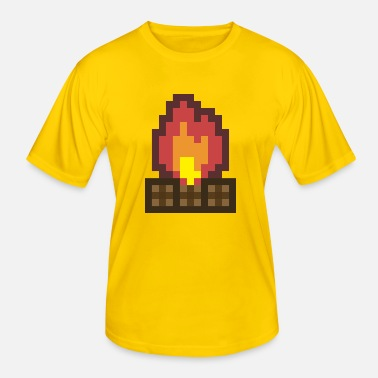 Lagerfeuer Lagerfeuer - Männer Funktions-T-Shirt