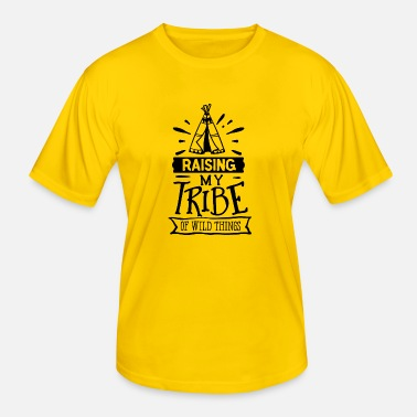 Germanic Tribes Raising my tribe - Men's Functional T-Shirt