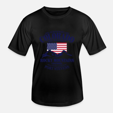 United States Colorado Ski Resort - United States - Functioneel T-shirt voor mannen
