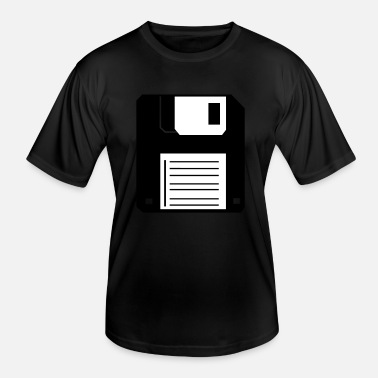 Floppy Disk Disk (floppy disk) - Men's Functional T-Shirt