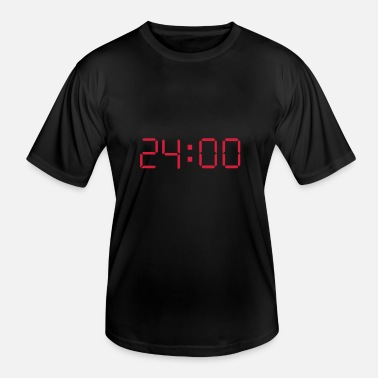 24 Hours 24 HOURS EACH DAY - Männer Funktions-T-Shirt