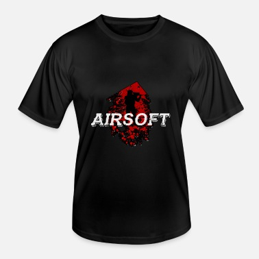 Air Gun Air soft Air Gun Popgun Pneumatic Flare Gun Gift - Men's Functional T-Shirt