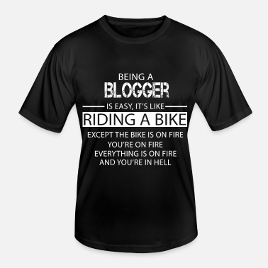 Blogger Blogger - Men's Functional T-Shirt