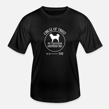 Caucasian Caucasian Shepherd Dog Owner Cool Dog Gift Idea - Men's Functional T-Shirt