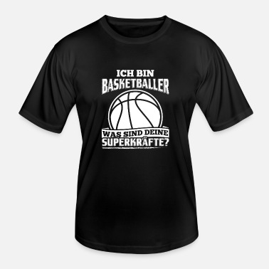 Lustiger Basketball Lustiges Basketball Basketballer Shirt Ich Bin - Männer Funktions-T-Shirt