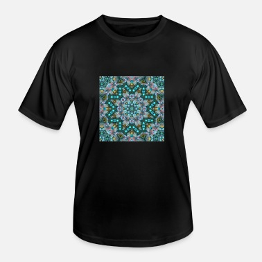KALEIDOSCOPE ABSTRACT LILY ELODIE 2 - Men's Functional T-Shirt