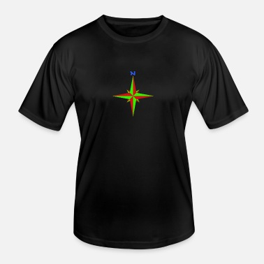 Compass Windrose / compass rose / compass / compass - Men's Functional T-Shirt