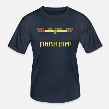Mortal FINISH HIM! - Men's Functional T-Shirt