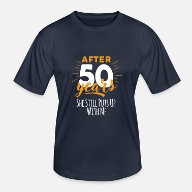 Plus De 50 Ans 50 ans 50e - seconde - T-shirt sport Homme