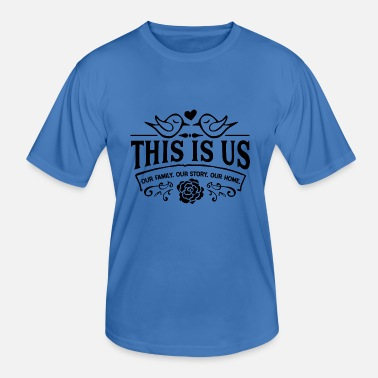 Used This is us - Men's Functional T-Shirt