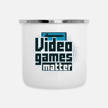 Video Video Games Matter - Emaille mok
