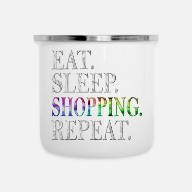 Shopping shopping - Tazza smaltata