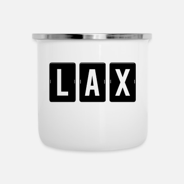 Los Angeles LAX - Los Angeles Airport - Emaille mok