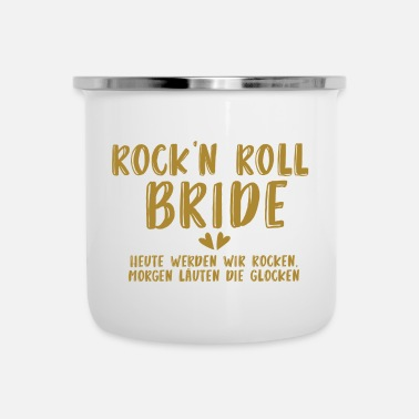 Afscheid Rock'n Roll Bride - JGA - Gold Series - Emaille mok