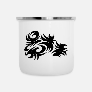 Tattoo Tattoo - Emaille-Tasse